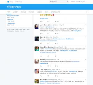 Twitter criticism